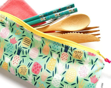 Beego Handmade Divided Cutlery Pouch