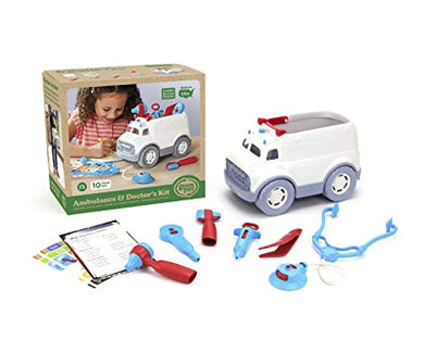 Green Toys Ambulance and Doctor Kit