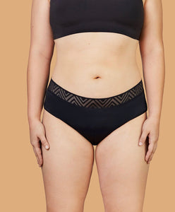 Thinx Super Hiphugger- Black