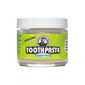 Uncle Harry's Toothpaste 3oz Jar Peppermint