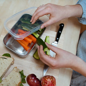 U Konserve Rectangle Container with Silicone Lid