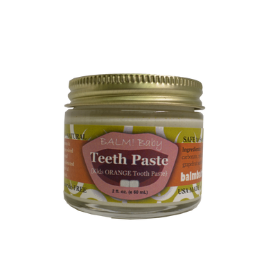 Balm! Baby Teeth Paste Natural Kids Tooth Paste with xylitol