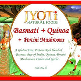 Jyoti Natural Foods Basmati and Quinoa with Porcinis(Pack of 4)