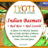 Jyoti Natural Foods Basmati and Red Rice with Lentils(Pack of 4)