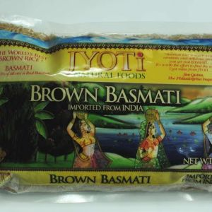 Jyoti Natural Foods Brown Basmati with Wild Rice(Pack of 4)