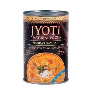 Jyoti Natural Foods Yellow Lentils with Vegetables, Vegetarian, 425 Gram Cans (Pack of 12)