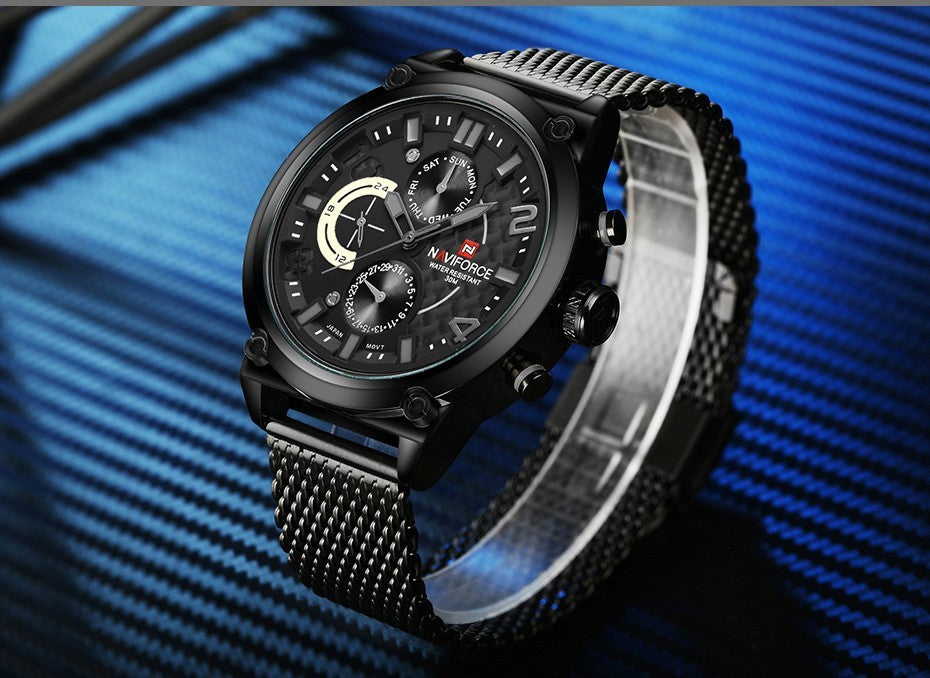 Luxury Analog Quartz Watch - Free Shipping