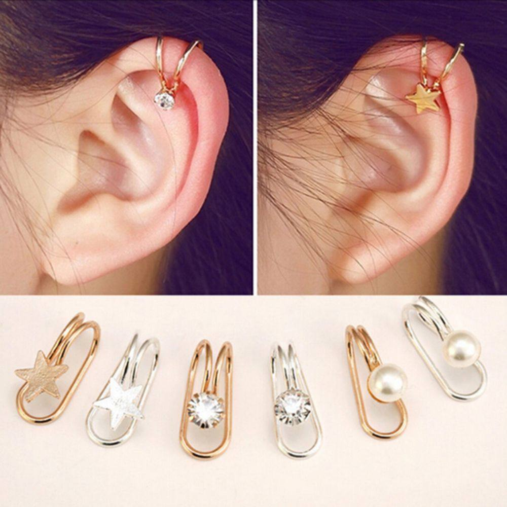 Fashion Multi-style earrings Earless ear clip - 18 variants