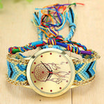 Braided Dreamcatcher Friendship Bracelet Watch