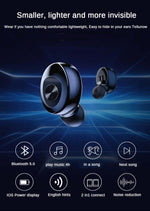 TWS Bluetooth 5.0 Earphone Stereo Wireless Earbus