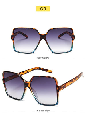Women Oversize Sunglasses UV400