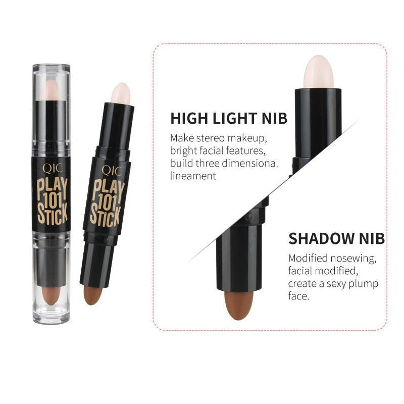 2 in 1 Concealer Bronzer Highlighter Pen Makeup