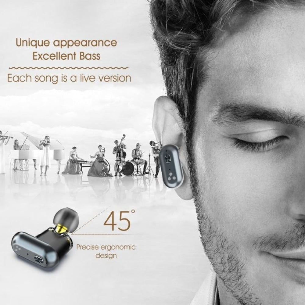Bluetooth V5.0 Bass Earphones Wireless Earbuds