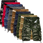 Cargo Shorts for Men Camouflaged Summer Pants