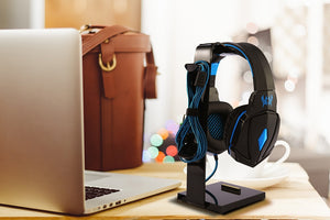 Acrylic Headset Headphone Stand Holder for Headphones