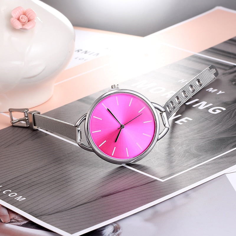 European Style Ladies Watches Stainless Steel