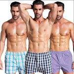 4 Pcs/lot Cotton Boxer Underwear