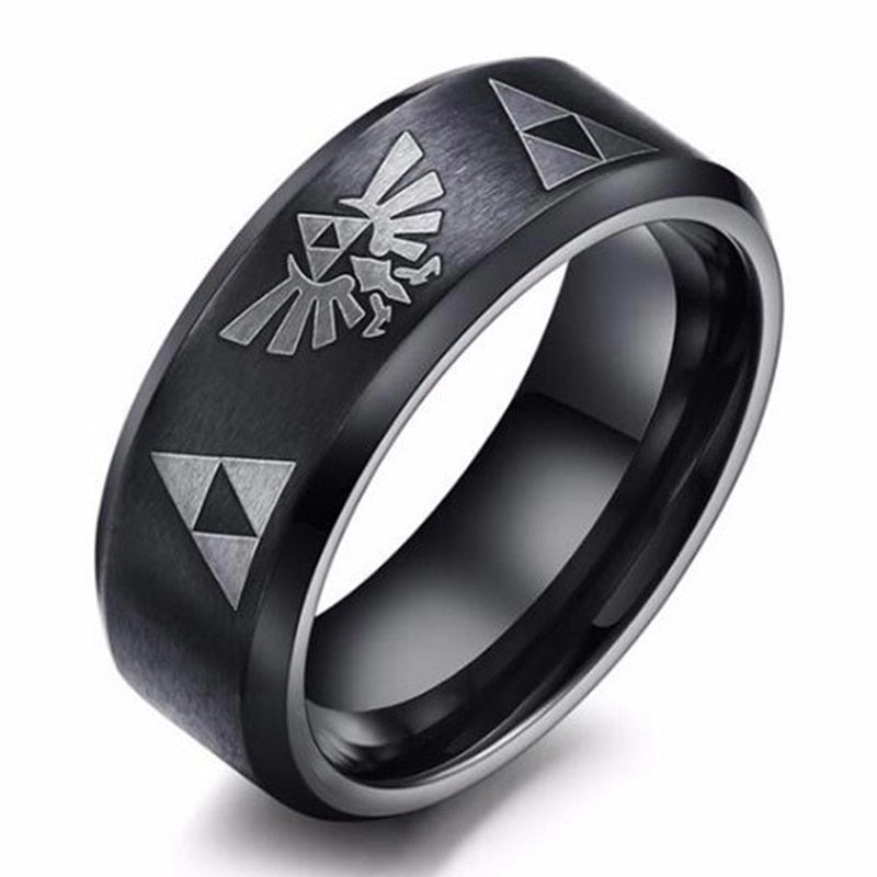 Legend Of Zelda Titanium Ring