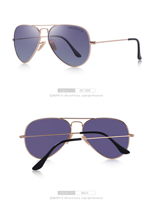 Pilot Polarized Sunglasses UV400 - 13 variants