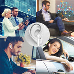 Mini Wireless Bluetooth Stereo Headset With Charging Box Mic For Any Smart Phone