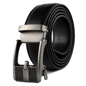 Genuine Leather Belts for Men Metal Buckle Man
