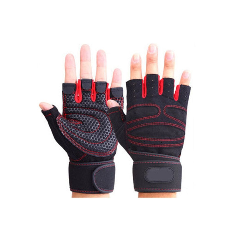 Heavyweight Sports Exercise Weight Lifting Gloves