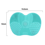 Silicone brush cleaner Cosmetic Makeup Pad