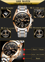 Watch Stainless Steel Mens Watches