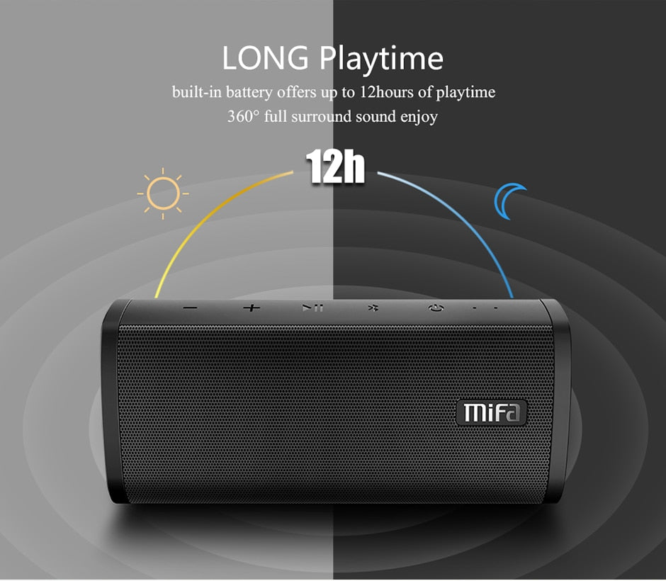 Bluetooth speaker Wireless Loudspeaker - Free Shipping