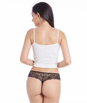 3 Pieces Sexy Briefs Lingerie Low Waist
