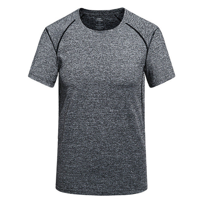 T-Shirt Men's Round Neck Quick-Dry Breathable