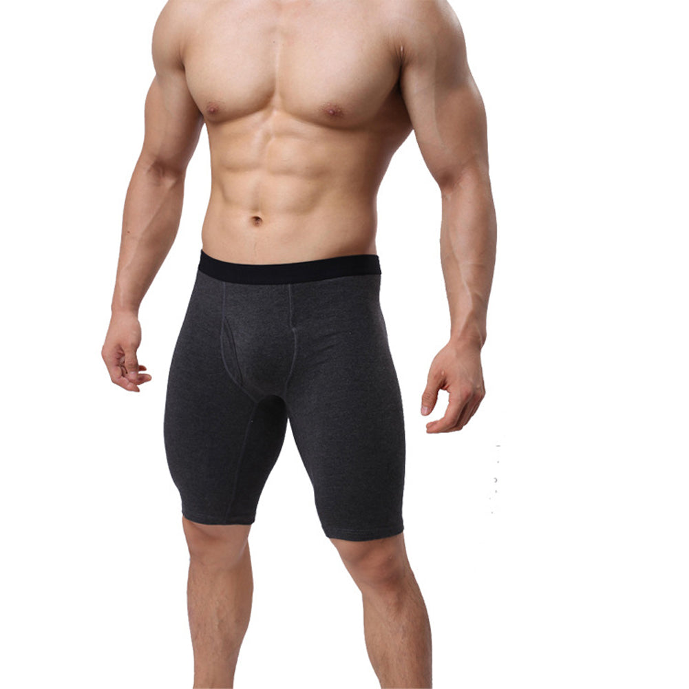 Underwear Cotton Boxers Shorts Long Leg Pants