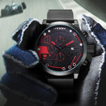 Luxury Chronograph Sports Watch Waterproof
