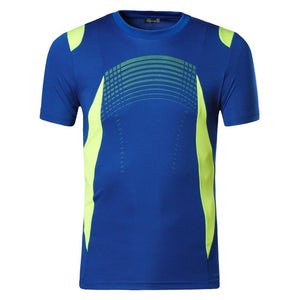 Casual T Shirt Quick Dry Slim Fit Sport Shirts