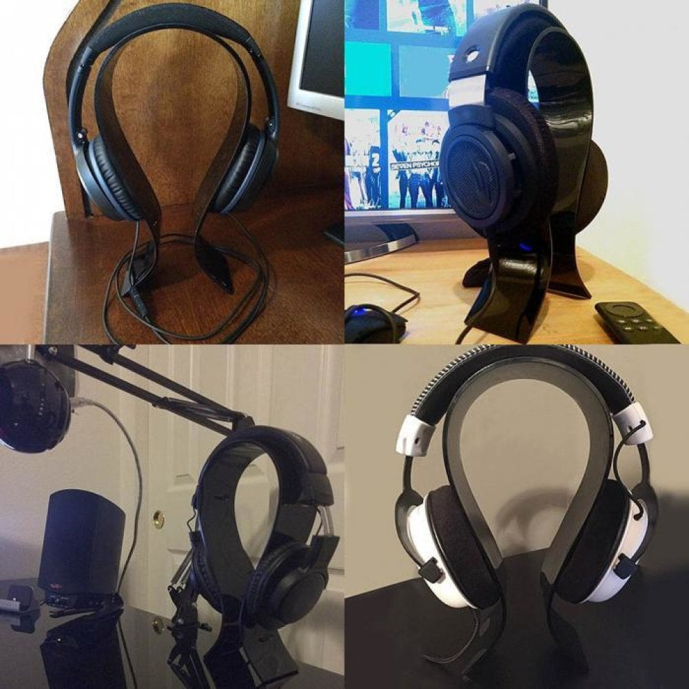 Acrylic Headset Holder Headphone Display Stand