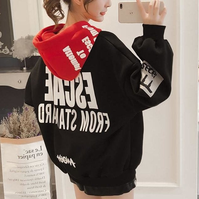 Hoodies Women Fashion Sweatshirts Long Sleeve