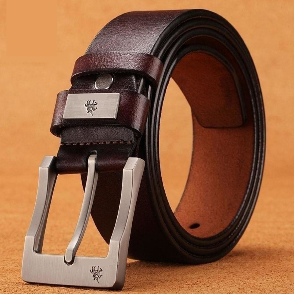 Mens Belt Genuine Leather Belt