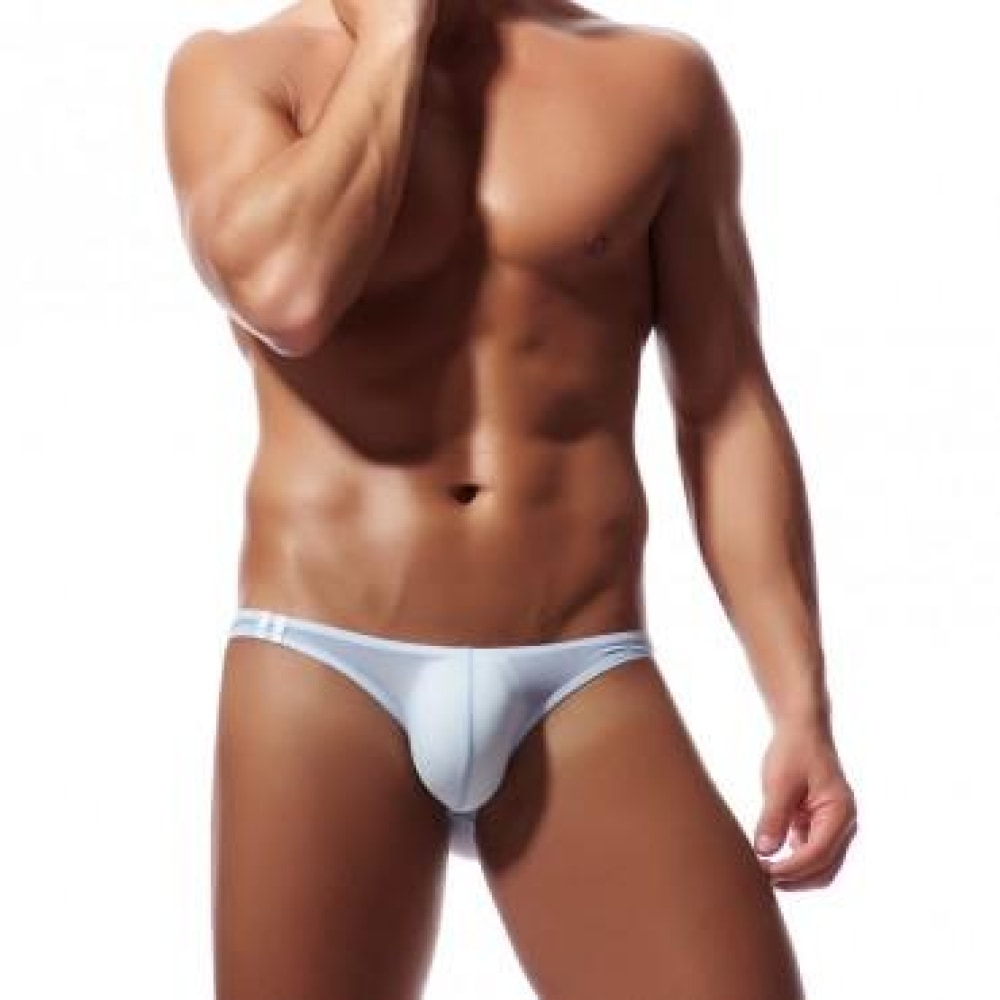 Men's Brief Soft Breathable Silk Sexy Underwear