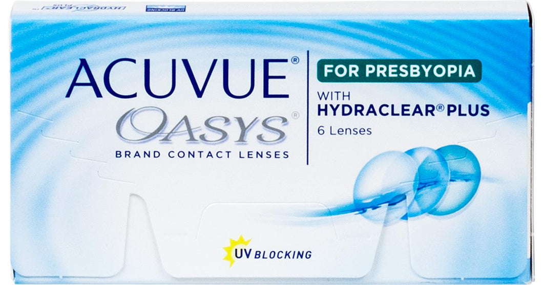 Acuvue Oasys 2-Week For Presbyopia - 2 Weeks - 6PK