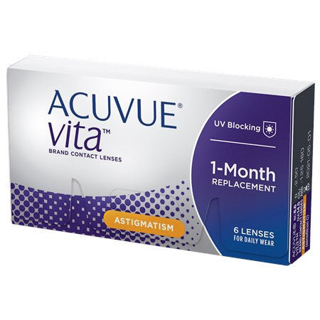 Acuvue Vita For Astigmatism - Monthly - 6PK