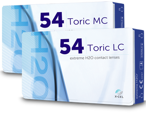 Extreme H20 54% Toric Lc / Mc - 2 Weeks - 6PK
