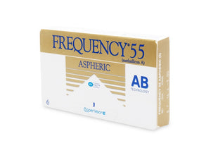 Frequency 55 Aspheric - Monthly - 6PK