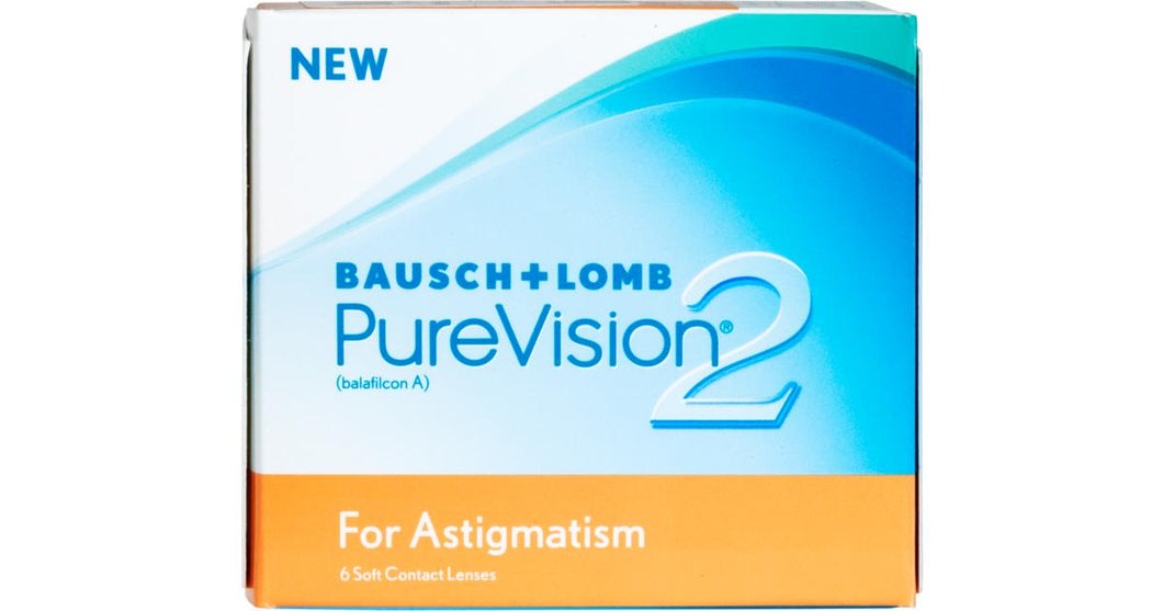 Purevision 2 For Astigmatism - Monthly - 6PK