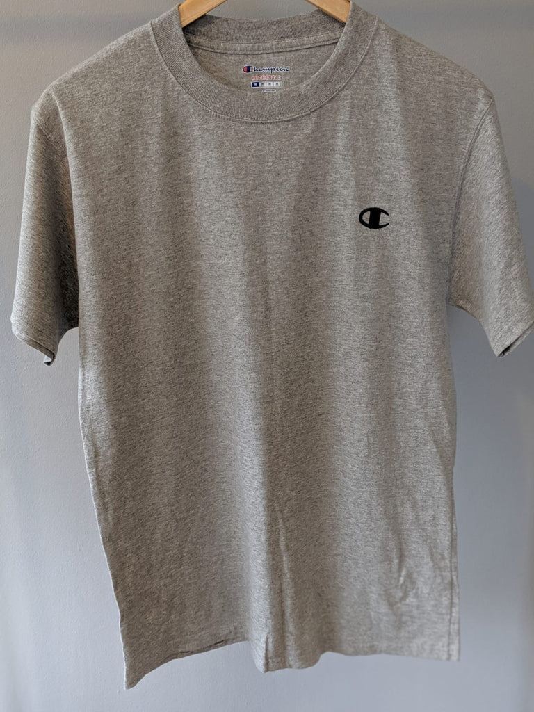 Champion T-Shirt - Grey - Medium - Vintage Society