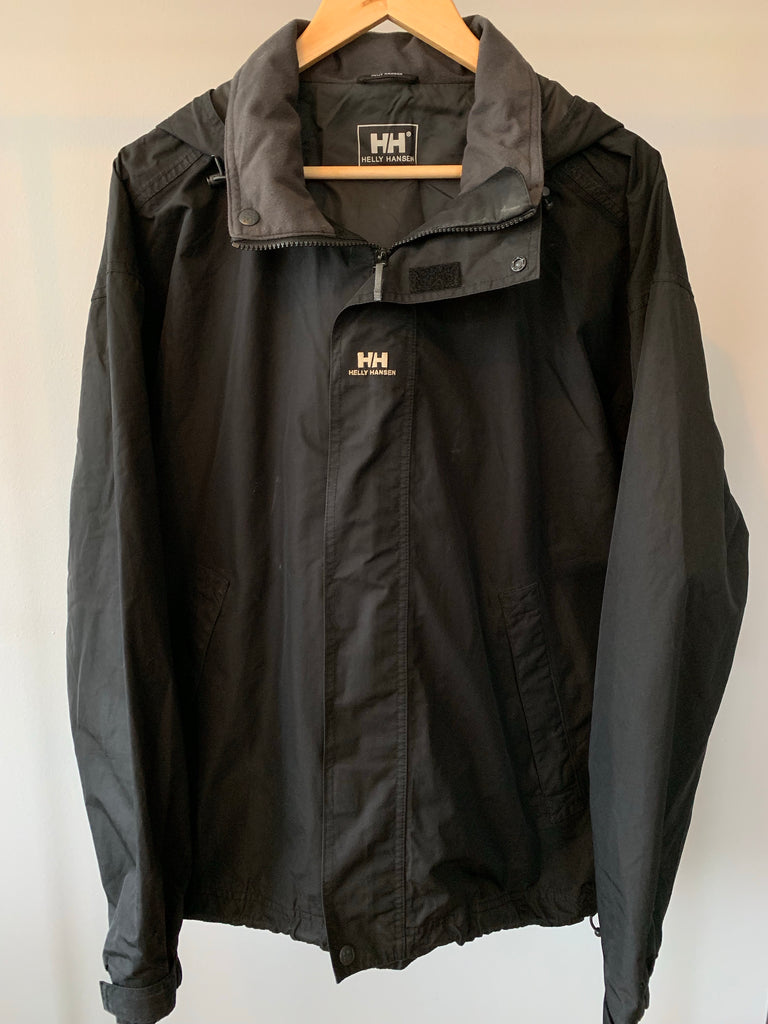 Helly Hansen Cagoule - Black - Large - Vintage Society