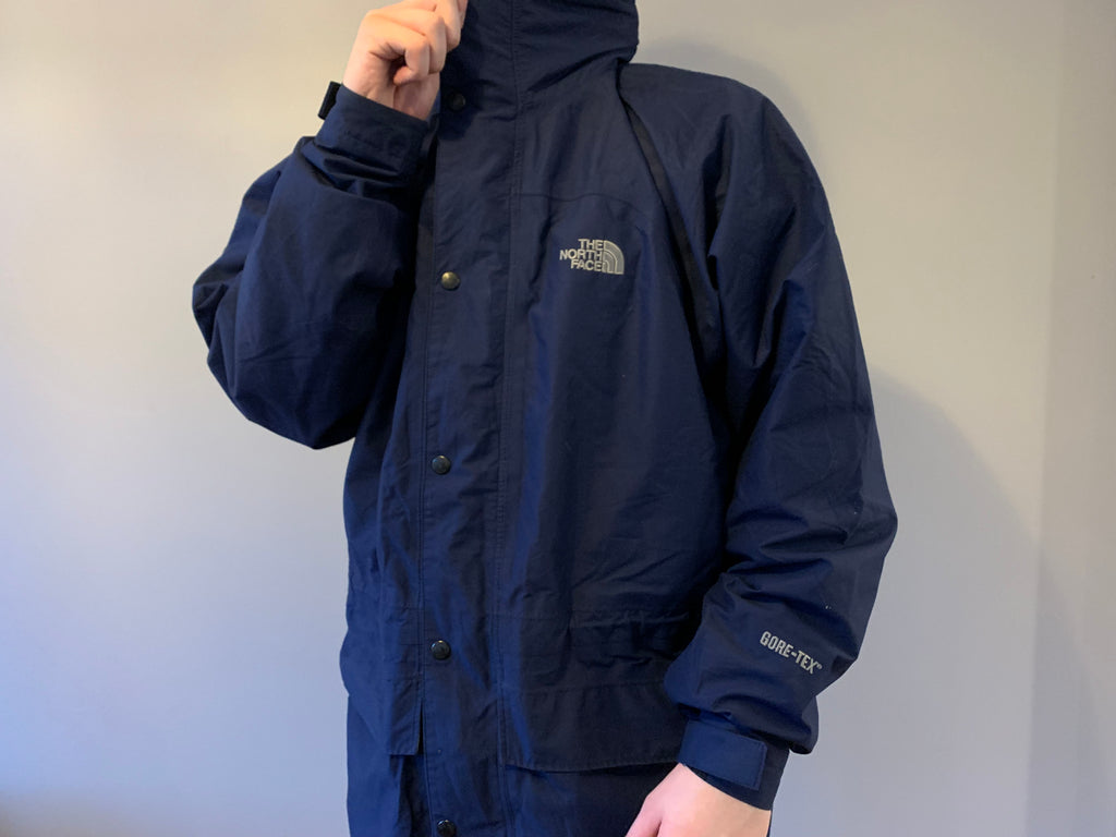 The North Face Gore-Tex Coat - Navy - XXL