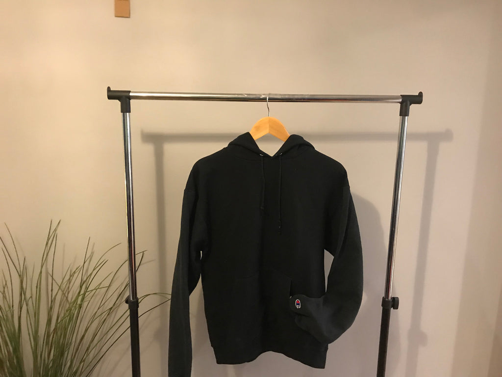 Champion Hoodie 'Eco Fleece' - Black - Medium