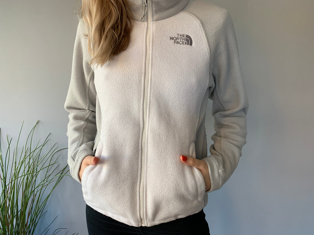 The North Face Full Zipper Fleece - Light Colourway - Small - Vintage Society