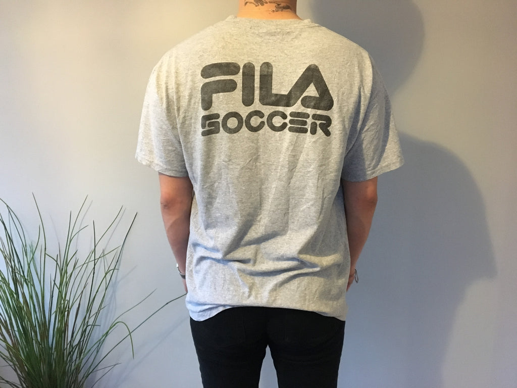 Chargers Filla Soccer T-Shirt - Grey - Vintage Society