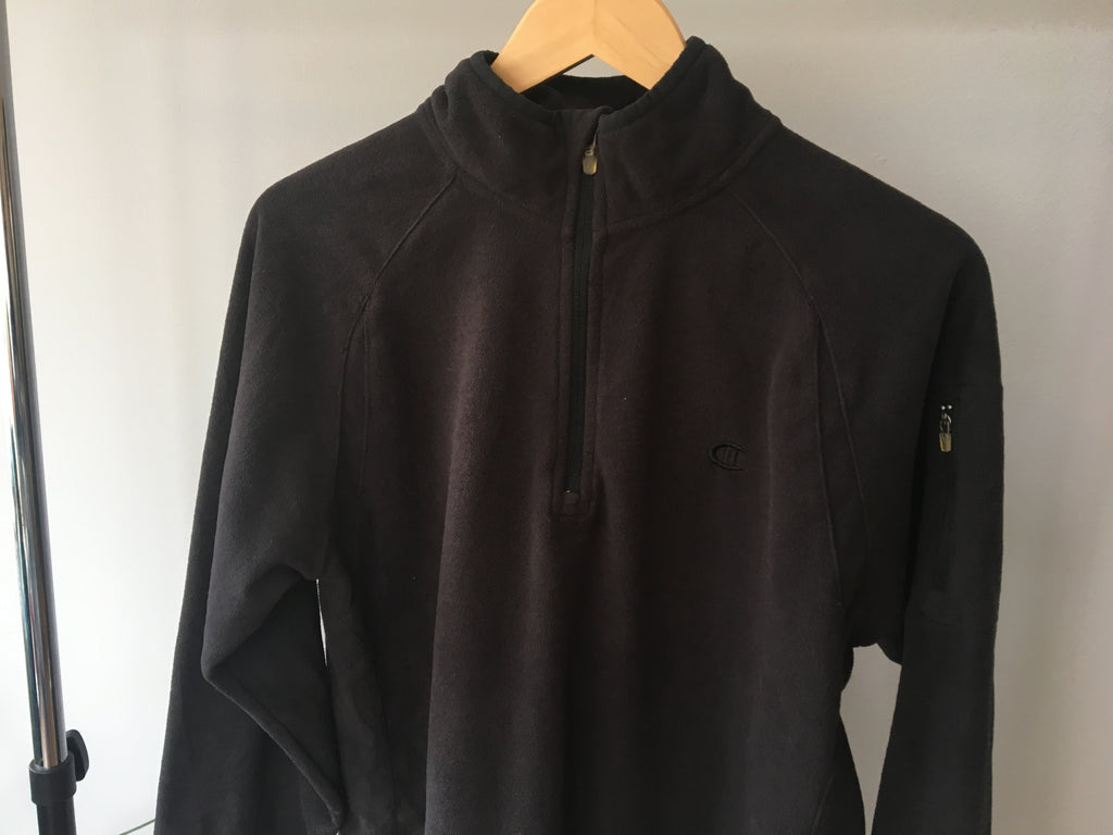 Champion Fleece - Black - Medium
